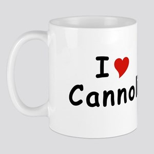 I Heart Cannoli T-shirts Mug